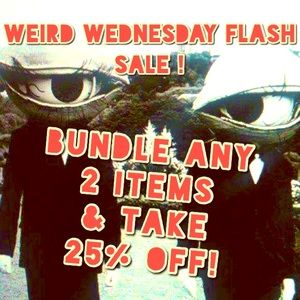 Bundle any 2 Items for 25% off.